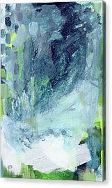 All Around You- Abstract Art By Linda Woods Acrylic Print