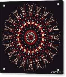 All Arrows Hit The Bullseye Acrylic Print by Joy McKenzie