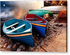 All Ashore Acrylic Print by Christopher Holmes