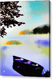 All Calm Acrylic Print by Anthony Caruso