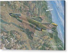 All For One   The Rescue Of Boxer 22 Ban Phanop Laos 5 Thru 7 December 1969 Acrylic Print by Randy Green
