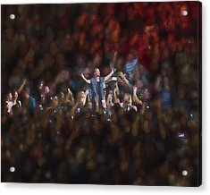 All Hail Eddie Vedder Acrylic Print