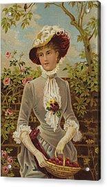 All In A Garden Fair Acrylic Print by English School