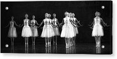 All In A Row Acrylic Print by Kenneth Mucke