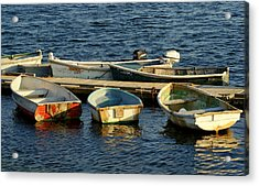 All In A Row Acrylic Print by Lois Lepisto