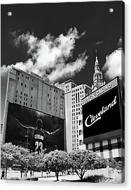 All In Cleveland Acrylic Print