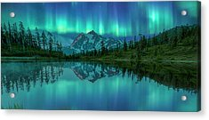 Acrylic Print featuring the photograph All In My Mind by Jon Glaser