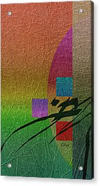All Is Well Acrylic Print by Gordon Beck