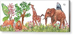 All Is Well In The Jungle Acrylic Print