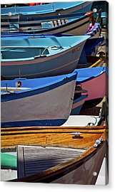 All Lined Up Acrylic Print by Roger Mullenhour