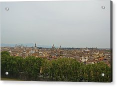 View All Of Rome Acrylic Print by JAMART Photography