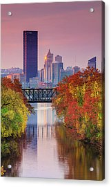 All Pittsburgh Pink  Acrylic Print
