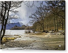 Acrylic Print featuring the photograph All Seasons At Loch Lomond by Jeremy Lavender Photography