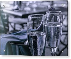 All Sparkling Blue Acrylic Print by JAMART Photography