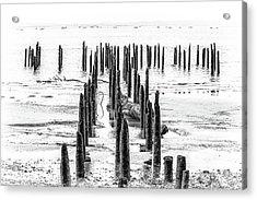 All That Is Left Acrylic Print by Joe Hudspeth