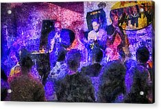 All That Jazz Acrylic Print by Joseph Hollingsworth