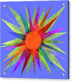 All The Colors In The Sun Acrylic Print