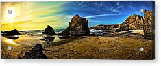 All The Gold In California Acrylic Print