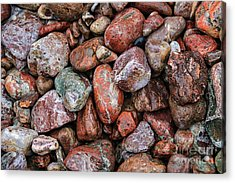 All The Stones Acrylic Print