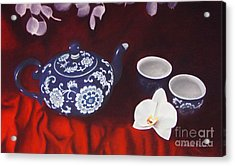 All The Tea In China Acrylic Print by Colleen Brown