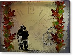 All The Time In The World Acrylic Print by Bill Cannon