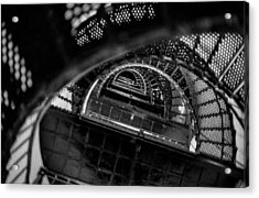Acrylic Print featuring the photograph All The Way To The Top by T Brian Jones