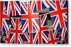 Acrylic Print featuring the photograph All Things British by Digital Art Cafe