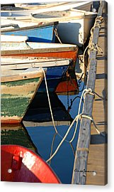 Acrylic Print featuring the photograph All Tied Up by AnnaJanessa PhotoArt