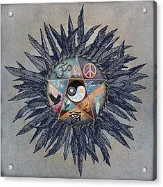 All Tribes Heed The Call Acrylic Print by Brenda Erickson
