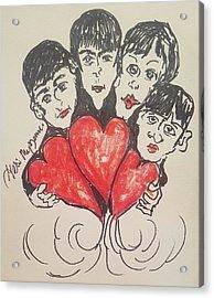 All You Need Is Love Beatles Acrylic Print