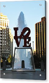 All You Need Is Love Acrylic Print by Bill Cannon