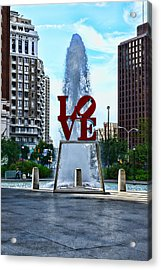 All You Need Is Love Acrylic Print by Paul Ward
