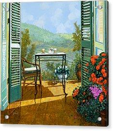 Alle Dieci Del Mattino Acrylic Print by Guido Borelli