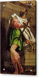 Allegory Of Navigation With A Cross Staff Averroes Acrylic Print by MotionAge Designs