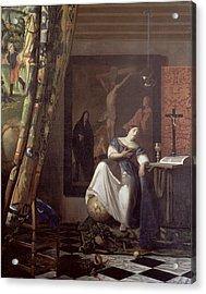 Allegory Of The Faith Acrylic Print