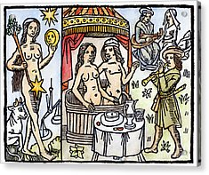 Allegory Of Venus, 1496 Acrylic Print by Granger