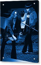Allen Collins And Ronnie Van Zant Same Old Winterland Blues Acrylic Print