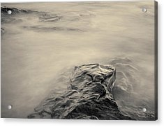 Acrylic Print featuring the photograph Allens Pond Xii Toned by David Gordon