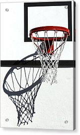Acrylic Print featuring the photograph Alley Hoop by Stephen Mitchell