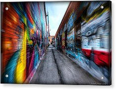 Acrylic Print featuring the photograph Alley by Michaela Preston