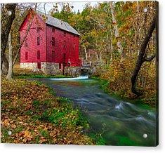 Alley Mill 8x10 Acrylic Print