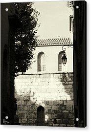 Acrylic Print featuring the photograph Alley Mystery by Rasma Bertz
