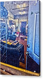 Alley Screen Door Acrylic Print