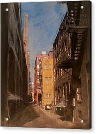 Alley Series 2 Acrylic Print by Anita Burgermeister
