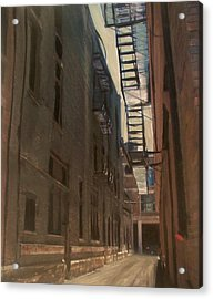 Alley Series 5 Acrylic Print by Anita Burgermeister