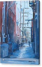Alley Shortcut Acrylic Print by Jenny Armitage
