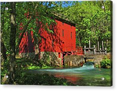 Alley Spring Mill Acrylic Print
