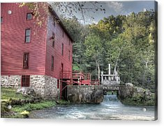 Alley Spring Mill Ozark National Scenic Riverway Acrylic Print