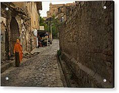 Alley To The Palace On The Hill Acrylic Print