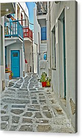 Alley Way Acrylic Print by Joe  Ng